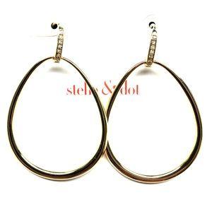 """Stella & Dot """"Goddess"""" teardrop earrings"""
